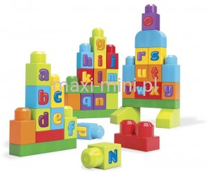 Mega Bloks First Builders Ćwiczymy ABC!